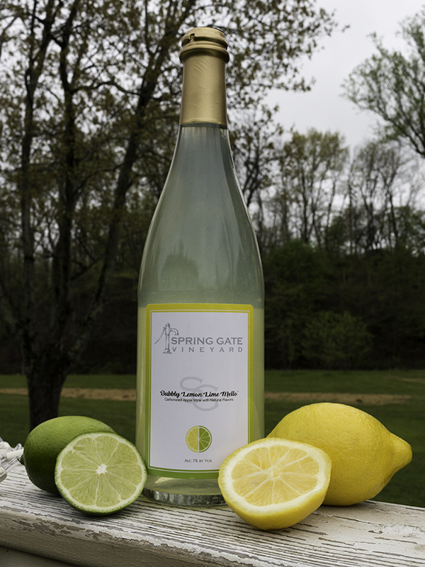 6 Bottles Bubbly Lemon Lime Mello