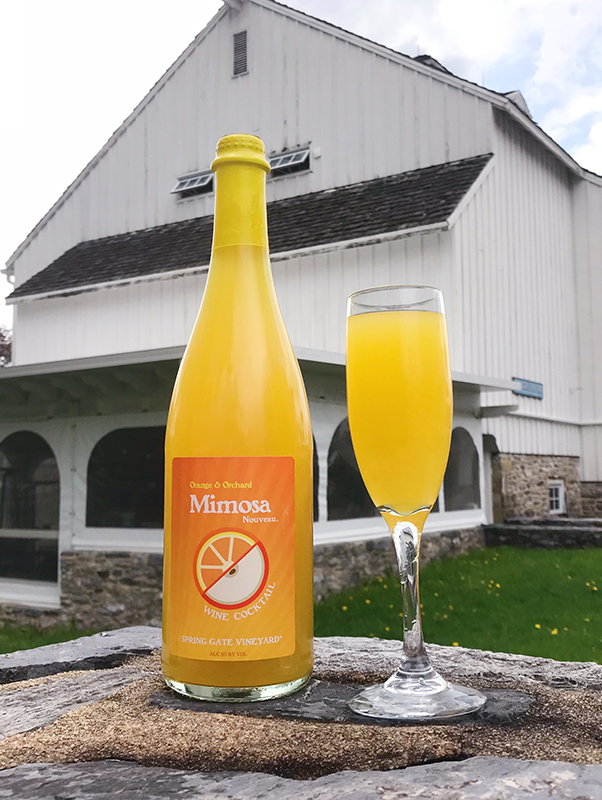 Orange and Orchard Mimosa Nouveau