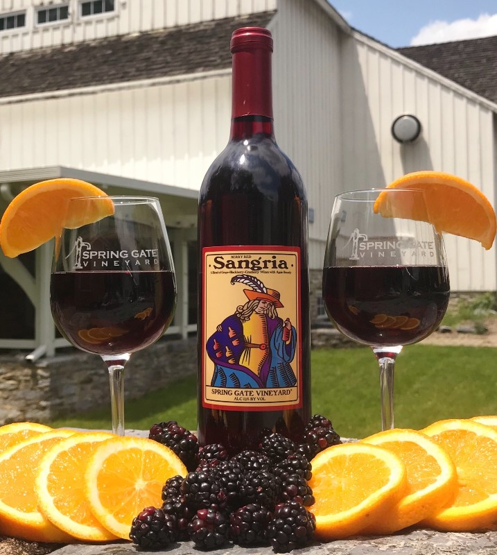 Blackberry Red Sangria