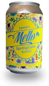 Bubbly Lemon Mello Cans - 4 Pack
